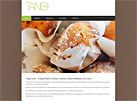 Tang Contract Catering Birmingham website by ARTWORKS UNLIMITED