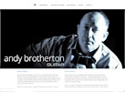 andy brotherton guitarist and guitar teacher website design by www.artworks-unlimited.co.uk