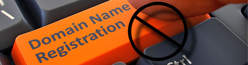 ALWAYS register your own domain name