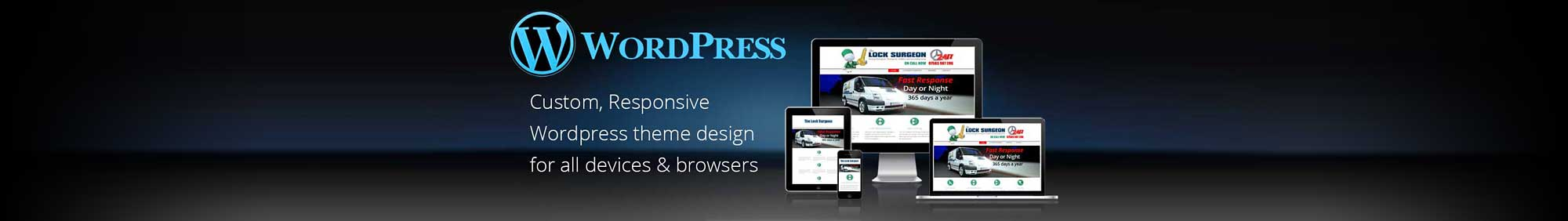WordPress custom design in Birmingham