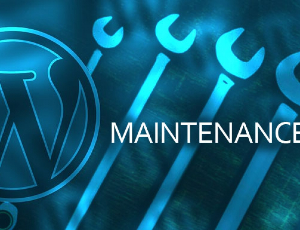 Do not ignore WordPress maintenance